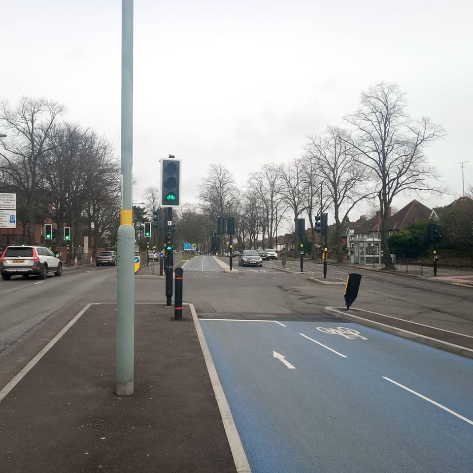 Cycle Traffic lights