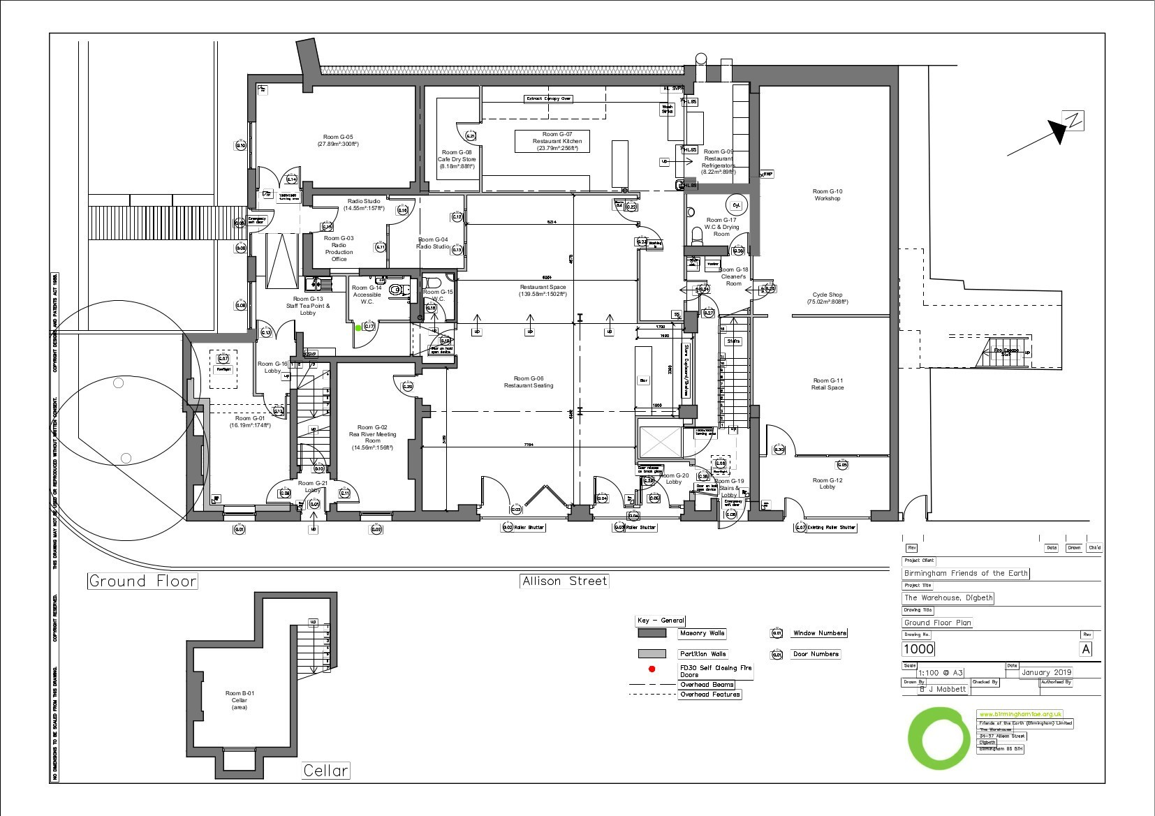 Architectual floor plan