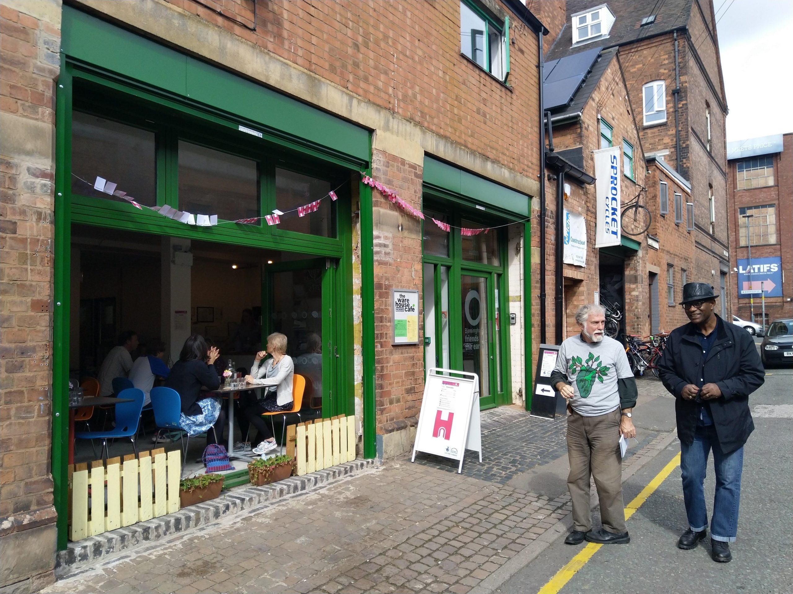 Warehouse Cafe front photo