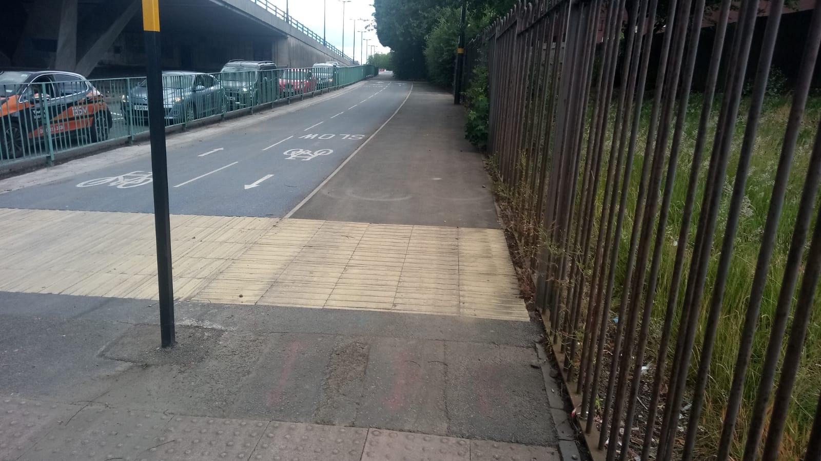 A41 heathfield road end