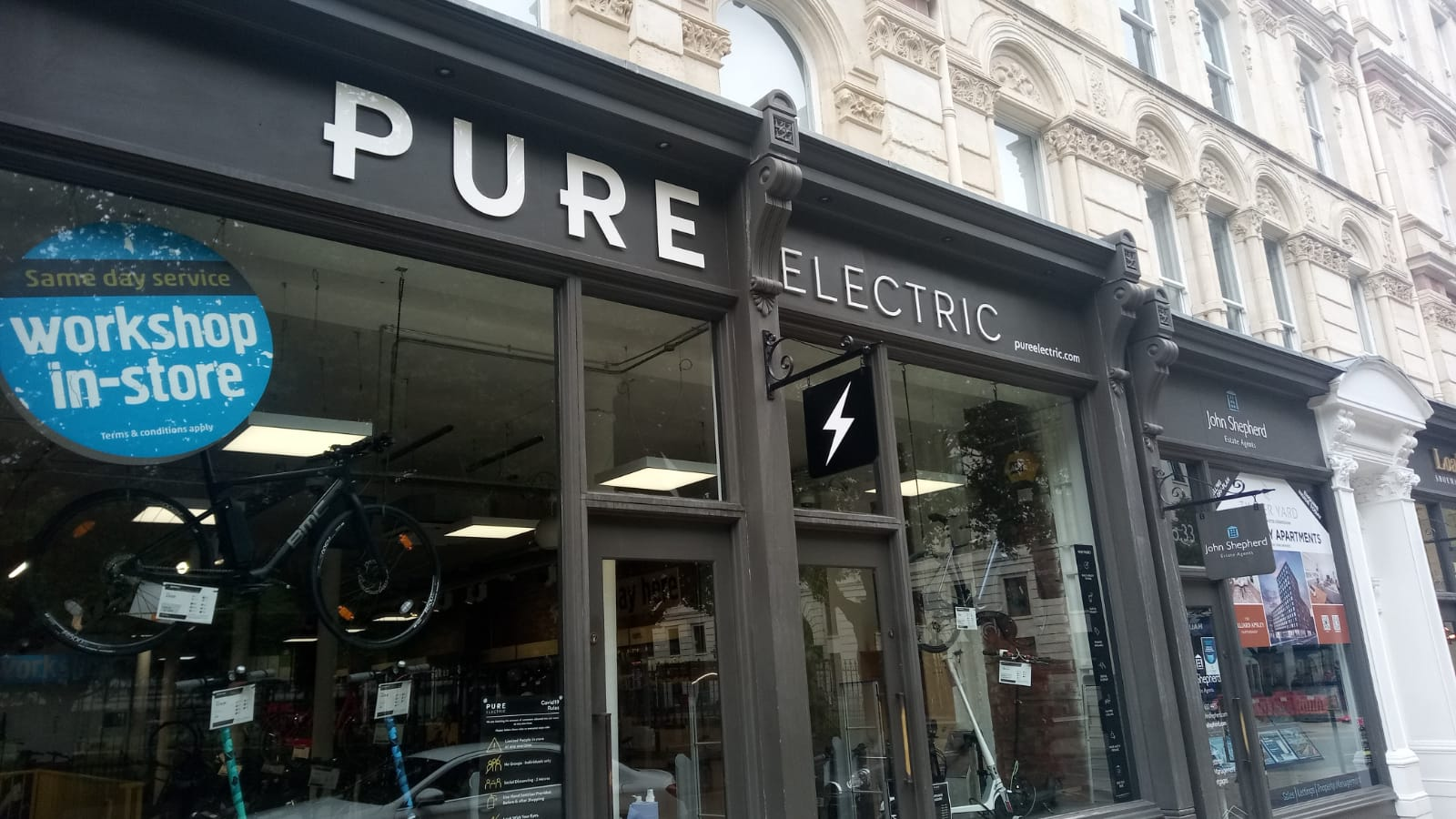 Pure electric